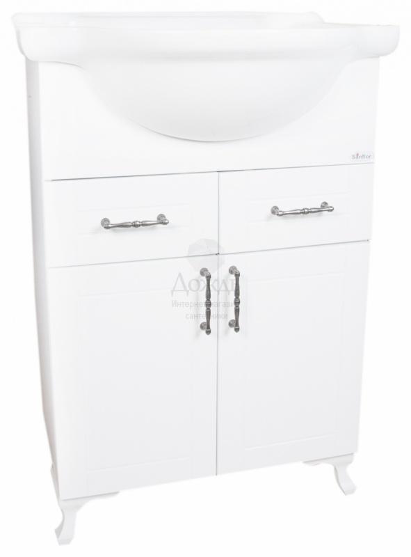 Купить Sanflor Глория 65 см, белый в интернет-магазине Дождь