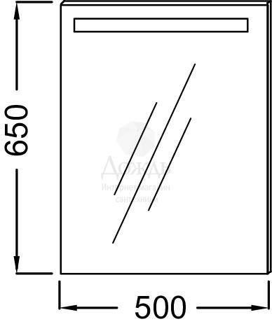 Купить Jacob Delafon EB1410-NF 50 см в интернет-магазине Дождь