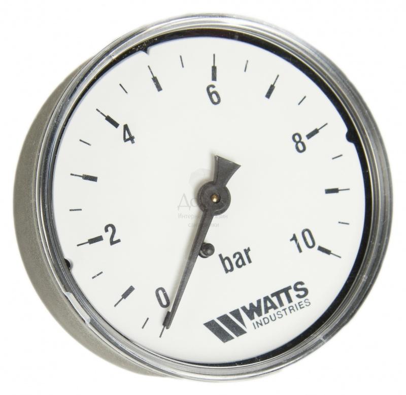 "Купить Watts 0316210 (0322735) MDA 63/10, нр1/4""х10 бар (63 мм) в интернет-магазине Дождь"
