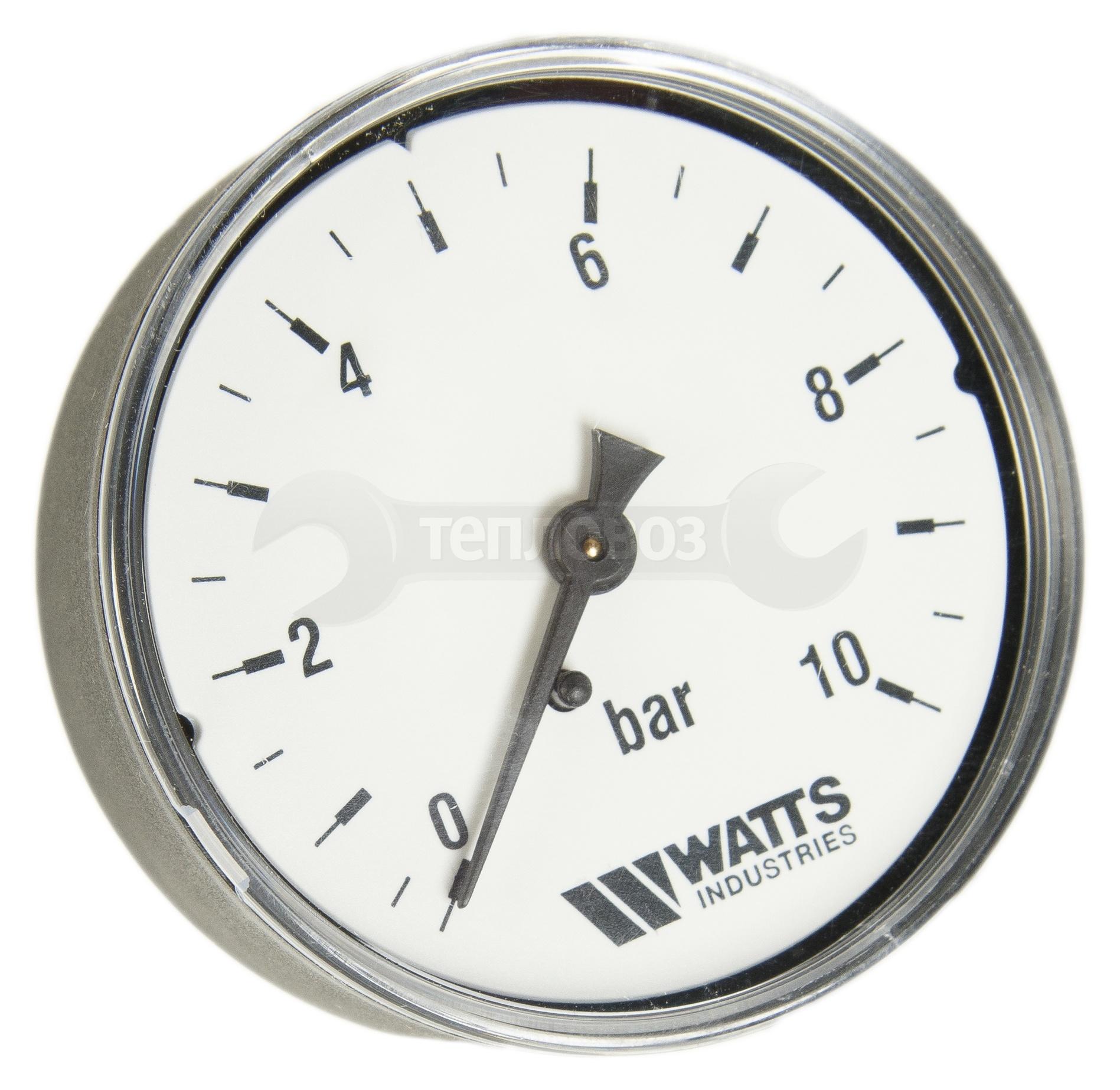 """Watts 0316210 (0322735) MDA 63/10, нр1/4""""х10 бар (63 мм)"""
