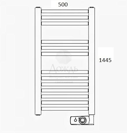 Купить ATLANTIC 850405, 144 х 50 см в интернет-магазине Дождь