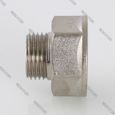"VALTEC 592, никель, вр-нр, 3/8""х 1/4"""