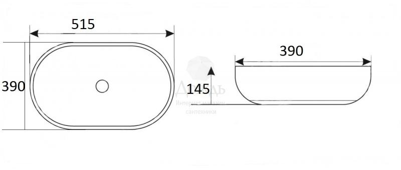 Купить Coffer ART A433, 51,5 см в интернет-магазине Дождь