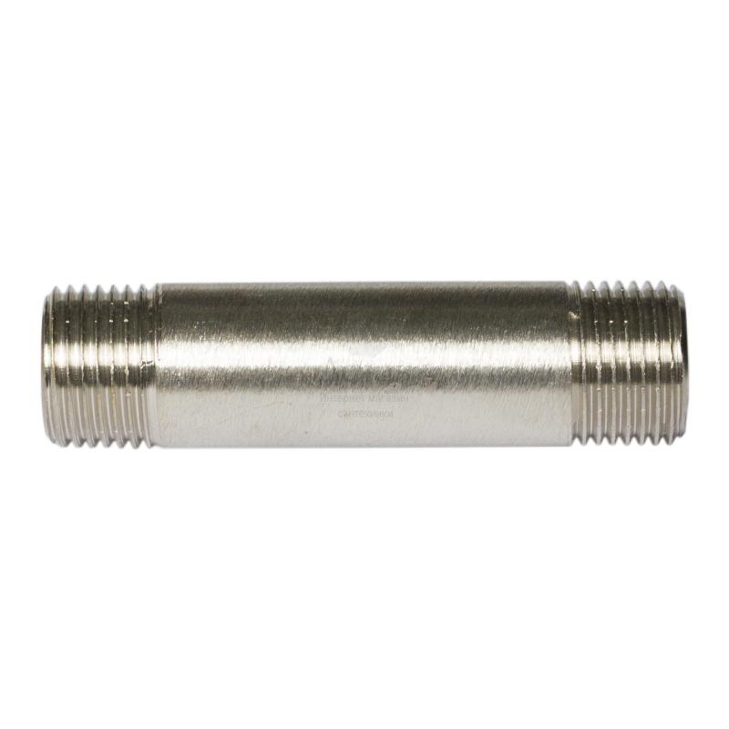 """Купить Valtec 652, никель, нр, 1/2""""х 80 мм в интернет-магазине Дождь"""