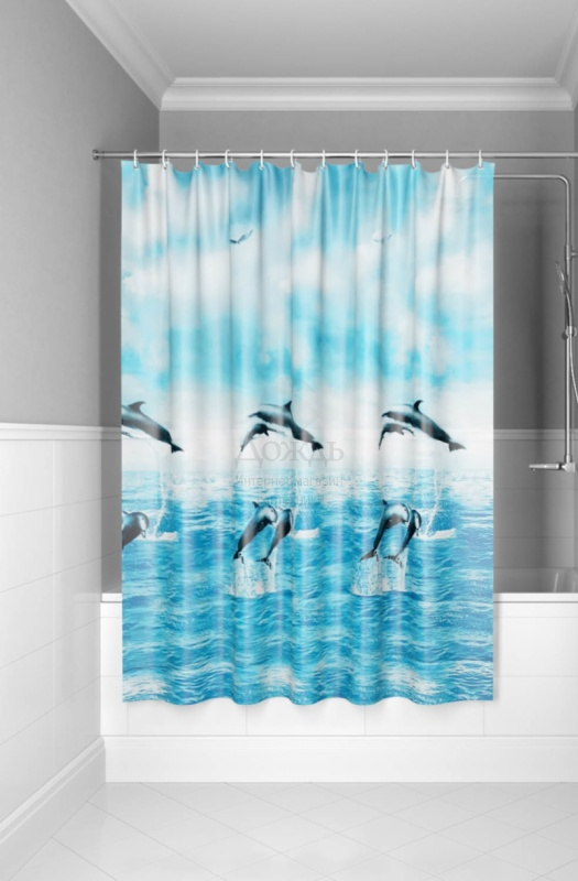 Купить Iddis Promo P21PV11i11, 1800х1800 мм, голубой в интернет-магазине Дождь