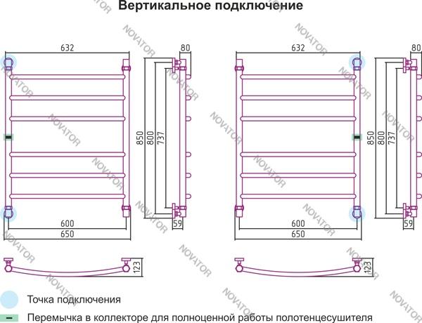 Сунержа Галант 00-0100-8060 (0014) 80х60 см