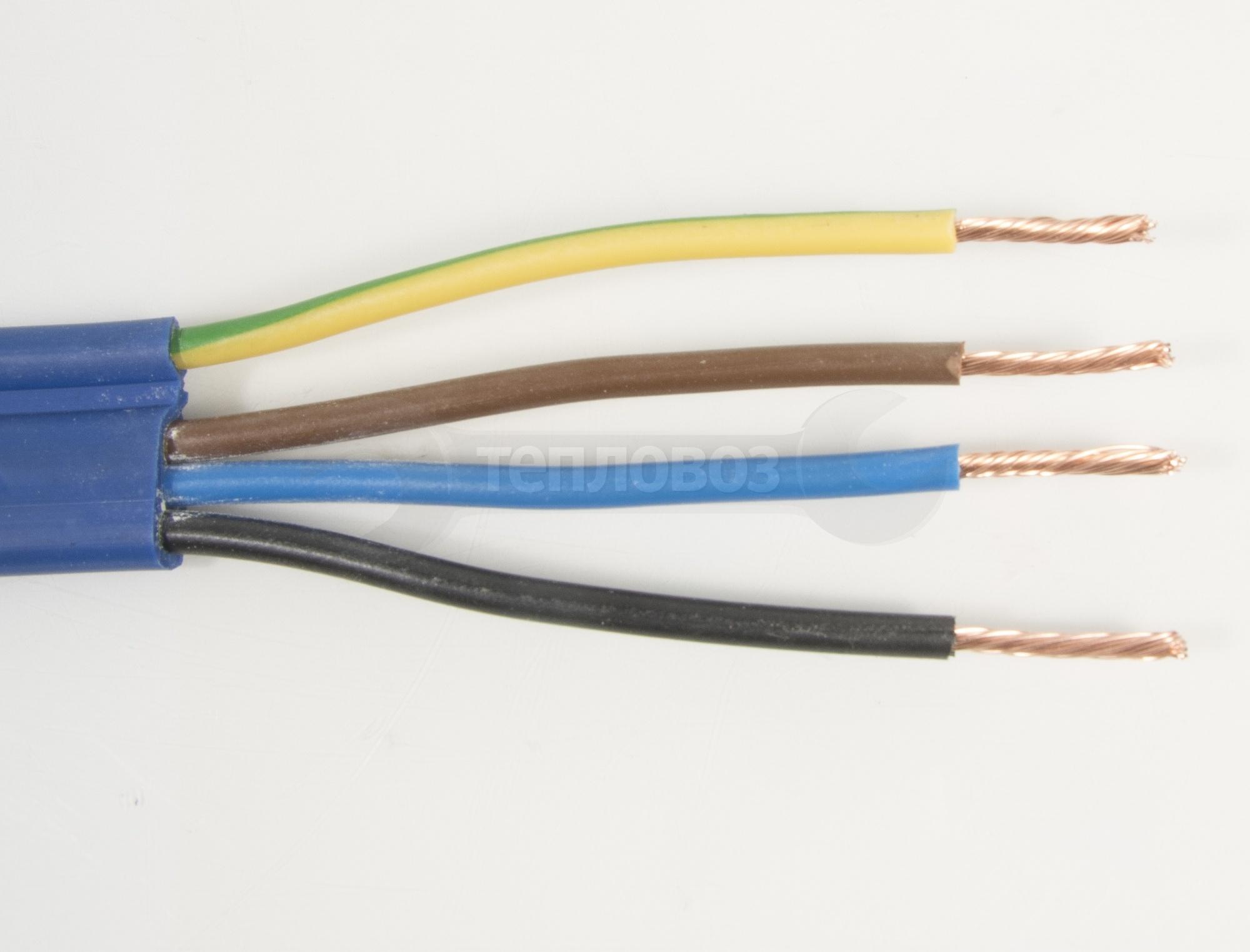 КВВ-П, 4 х 2,5 мм2