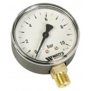 "Watts 0318210 MDR 63/10, нр 1/4""х10 бар (63 мм)"