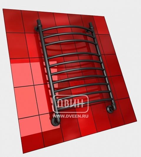 Купить Двин K 80х50см, черный матовый в интернет-магазине Дождь