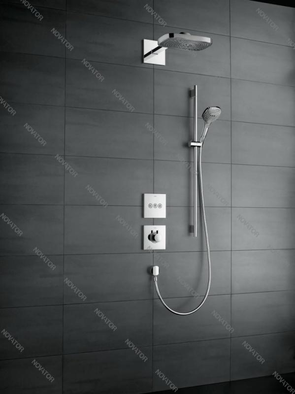 Hansgrohe Raindance Select E 120/Unica'S Puro 26621000