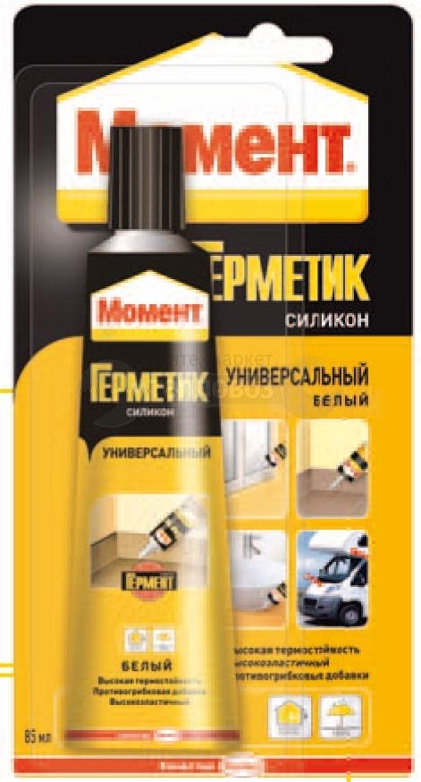 Купить Henkel Момент, 85 мл, белый в интернет-магазине Дождь