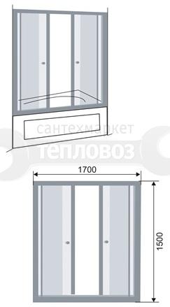 Galletta 170 ST-04, 170х150 см