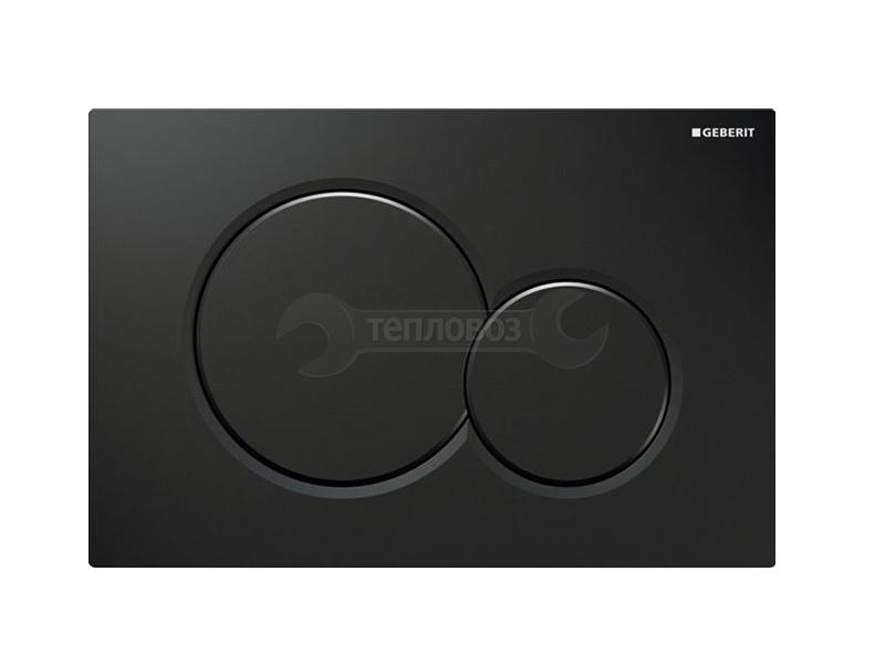 Купить Geberit Sigma 01 115.770.DW.5, черный глянцевый в интернет-магазине Дождь