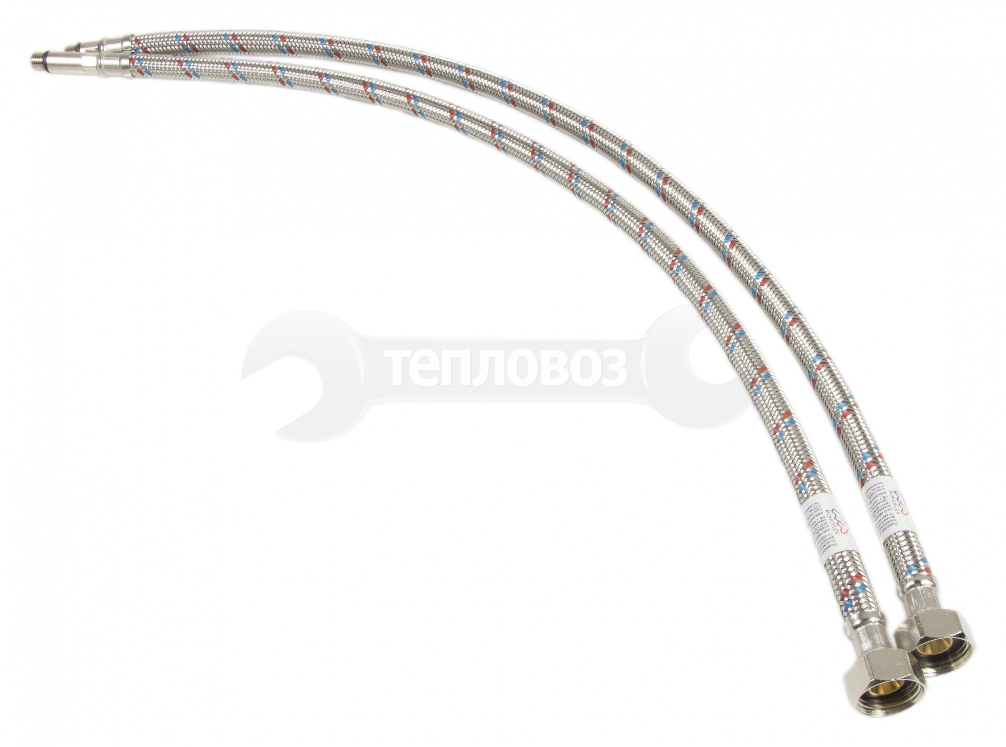 Monoflex 60 см, короткий и длинный штуцер