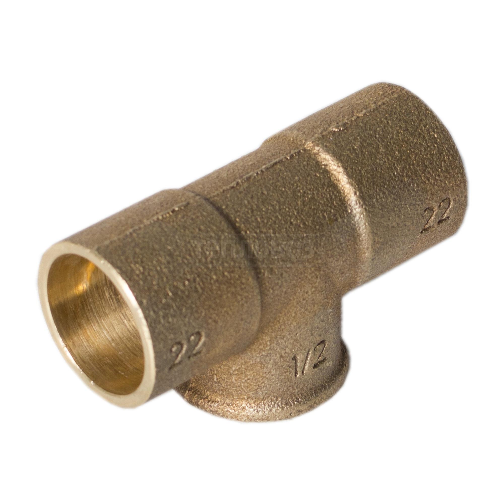"""Купить Sanha 4130g, 22х½""""х22 мм, вр в интернет-магазине Дождь"""