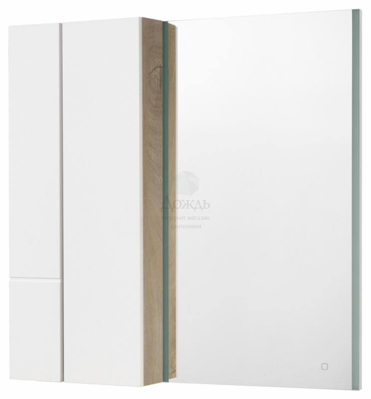 Купить Акватон Мишель57 1A253902MIX40, 57 см, белый/дуб эндгрейн в интернет-магазине Дождь