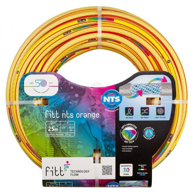 """Купить Fitt NTS Orange 1/2"""", L= 50 м, желтый в интернет-магазине Дождь"""