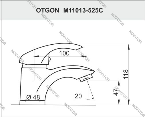 Otgon Little Swan M11013-525C