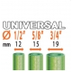 "Claber Ergogrip Universal 8548, 1/2""-5/8""-3/4"""