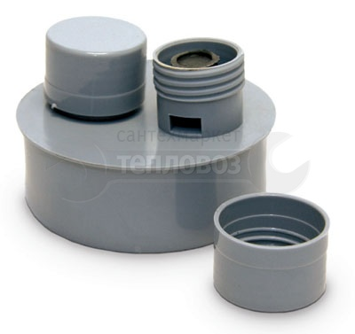 Купить РосТурПласт 110 мм (вакуумный клапан) в интернет-магазине Дождь