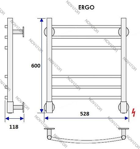 Energy Ergo, 60х50 см