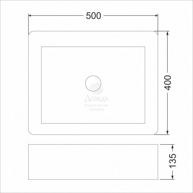 Купить COFFER ART A422, 50см в интернет-магазине Дождь