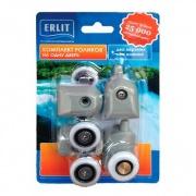 Купить Erlit 5 серия, 23 мм, серый в интернет-магазине Дождь