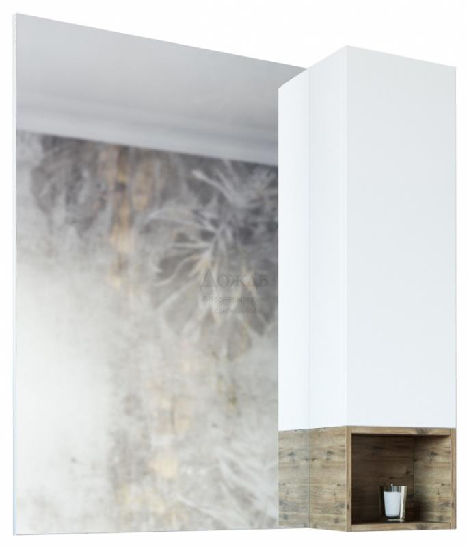 Купить Sanflor Даллас 80R 77 см, белый/дуб в интернет-магазине Дождь