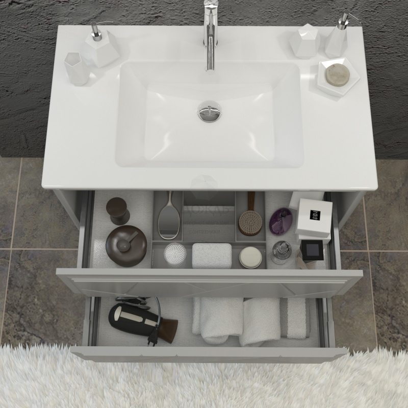 Купить Smile Луиджи, 91 см, серый в интернет-магазине Дождь