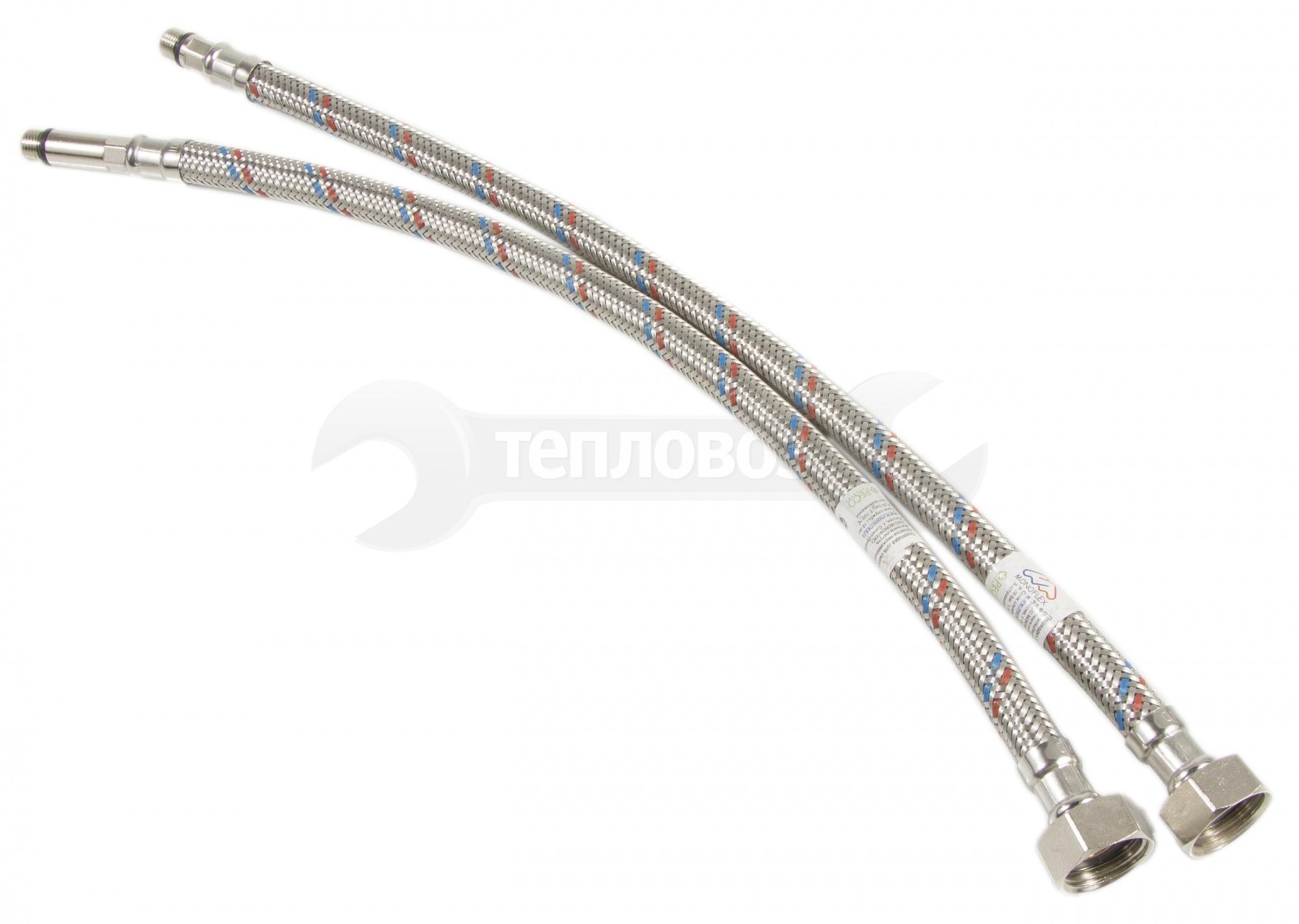 Monoflex 40 см, короткий и длинный штуцер