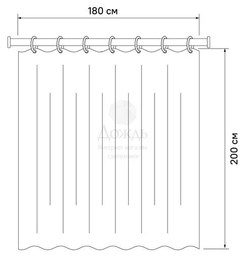 Купить Iddis Basic B06P218i11, 200х180 см в интернет-магазине Дождь