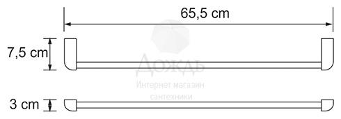 Купить Wasserkraft Kammel W K-8330White, 65,5см в интернет-магазине Дождь