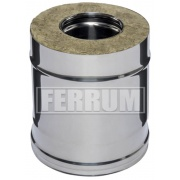 Ferrum 250 мм D115x200 мм (430/0,8мм)
