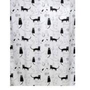 Купить Bath Plus Little Black Cat CH-12256, 180х180см в интернет-магазине Дождь