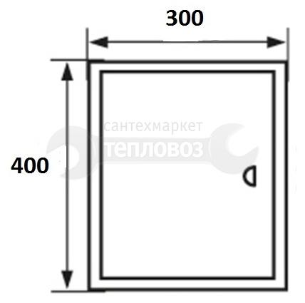 Event 3040ЛММ, 30х40 см, металлический, магнитный замок
