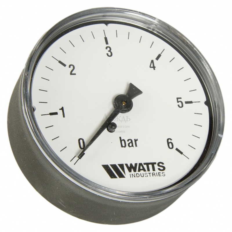 "Купить Watts 0316206 (0322730) MDA 63/6,нр 1/4""х6 бар (63 мм) в интернет-магазине Дождь"