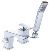 Купить Lemark Contest LM5845CW, хром/белый в интернет-магазине Дождь