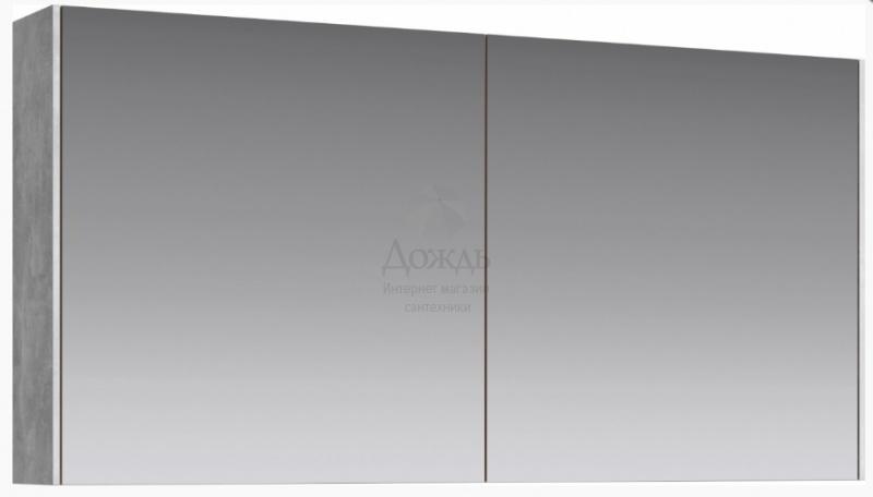 Купить Aqwella Mobi MOB0412, 120 см, бетон светлый в интернет-магазине Дождь