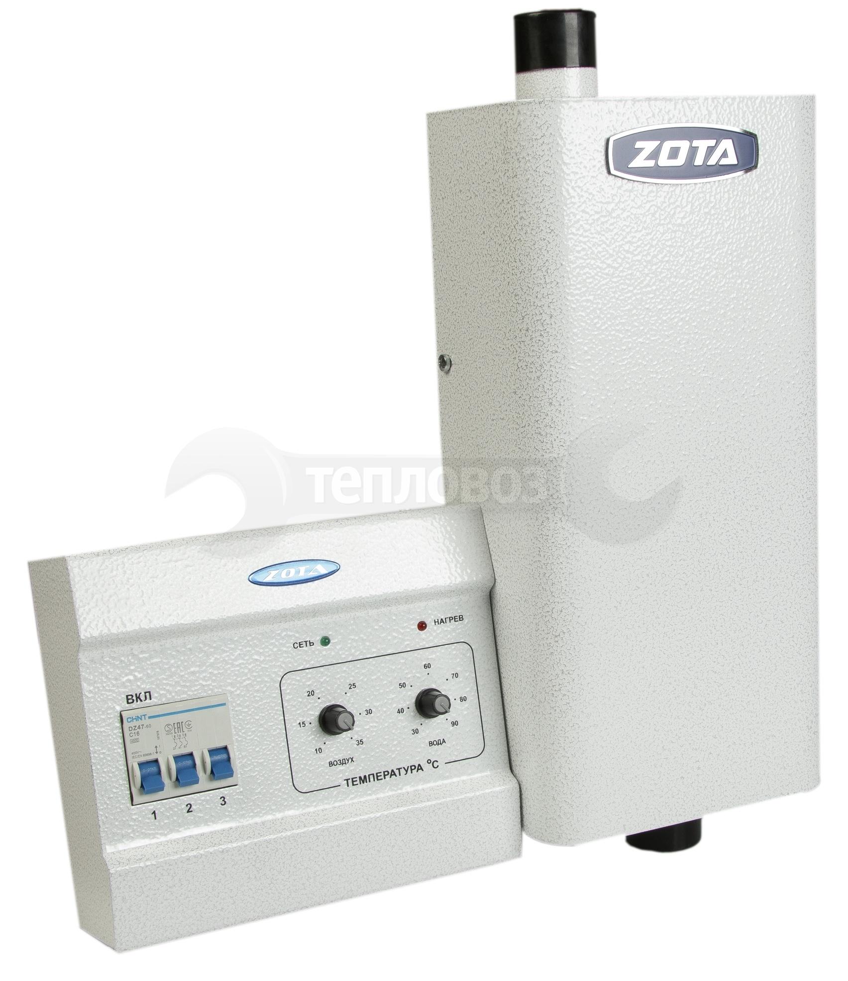 Купить Zota Econom, 4,5 кВт, с пультом управления в интернет-магазине Дождь