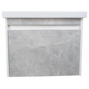 Купить Sanflor Калипсо, с раковиной cersanit Como P-UM-COM60/1, 60 см, белый / серый в интернет-магазине Дождь