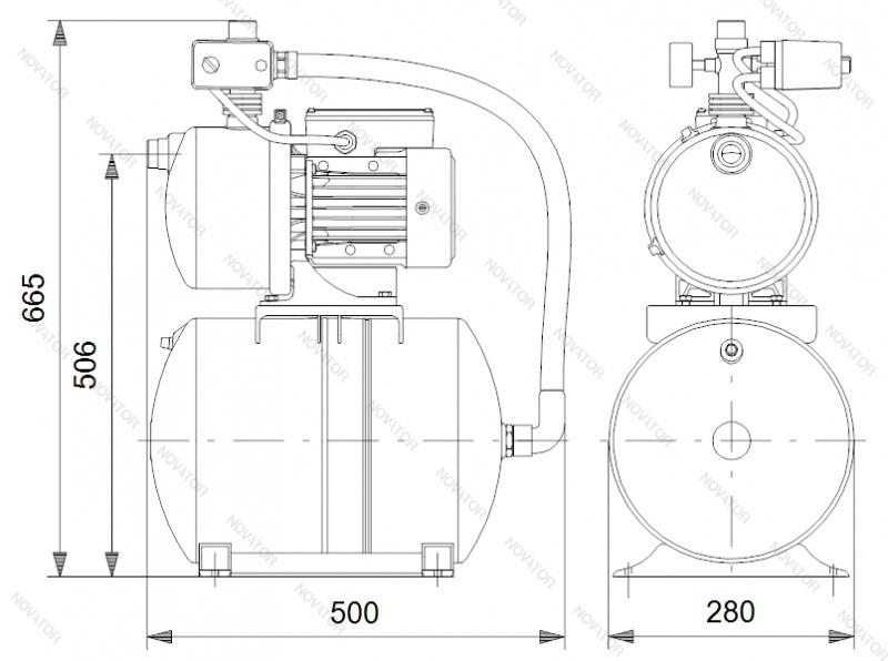 Grundfos 4661BPBB JP6 Booster