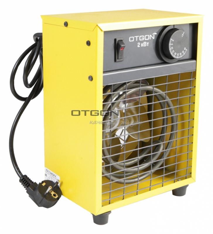 Пушка электрическая (тепловентилятор) Otgon КЭВ-2, 2 кВт, желтый