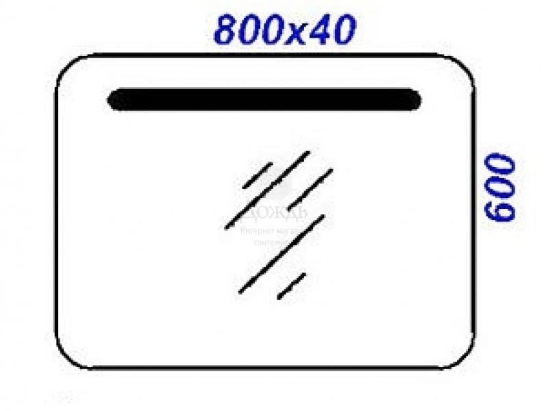 Купить Aqwella Infinity 80 см в интернет-магазине Дождь