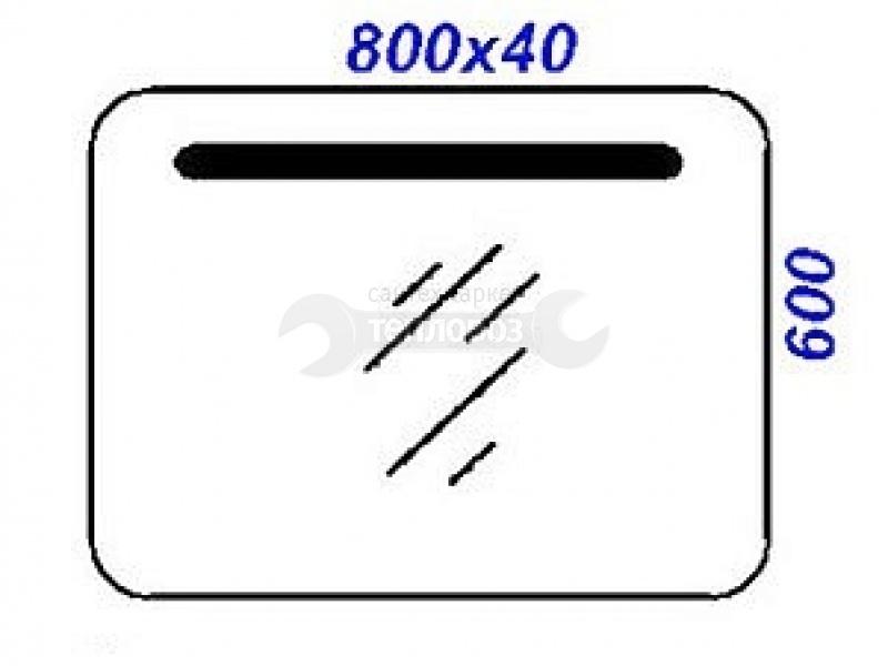 Aqwella Infinity 80 см