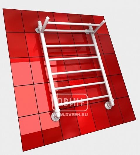 Купить Двин F 70х50см, лестница, белый в интернет-магазине Дождь