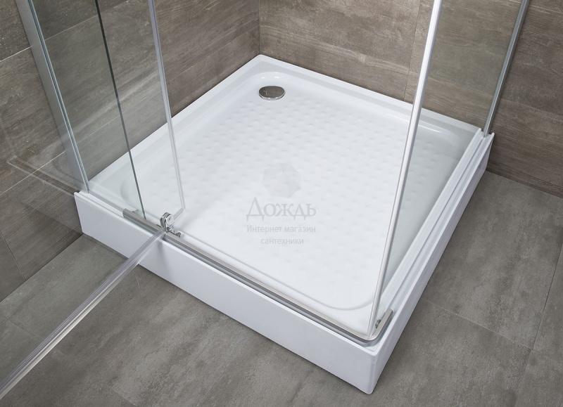 Купить Erlit ER 10110H С1, 100х100 см с поддоном в интернет-магазине Дождь
