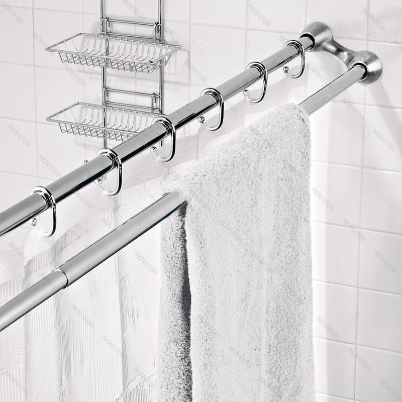 Bath Plus KSS-DBL-02, 120-220 см