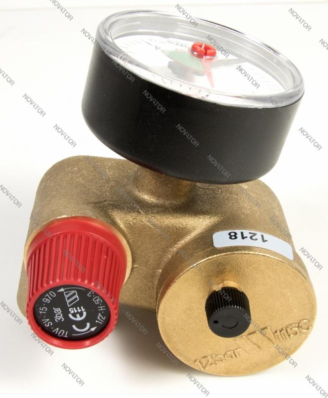 """Watts 0272030 KSG30 N, 1"""" (25 мм) с манометром"""