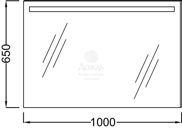 Купить Jacob Delafon EB1416-NF 100 см в интернет-магазине Дождь