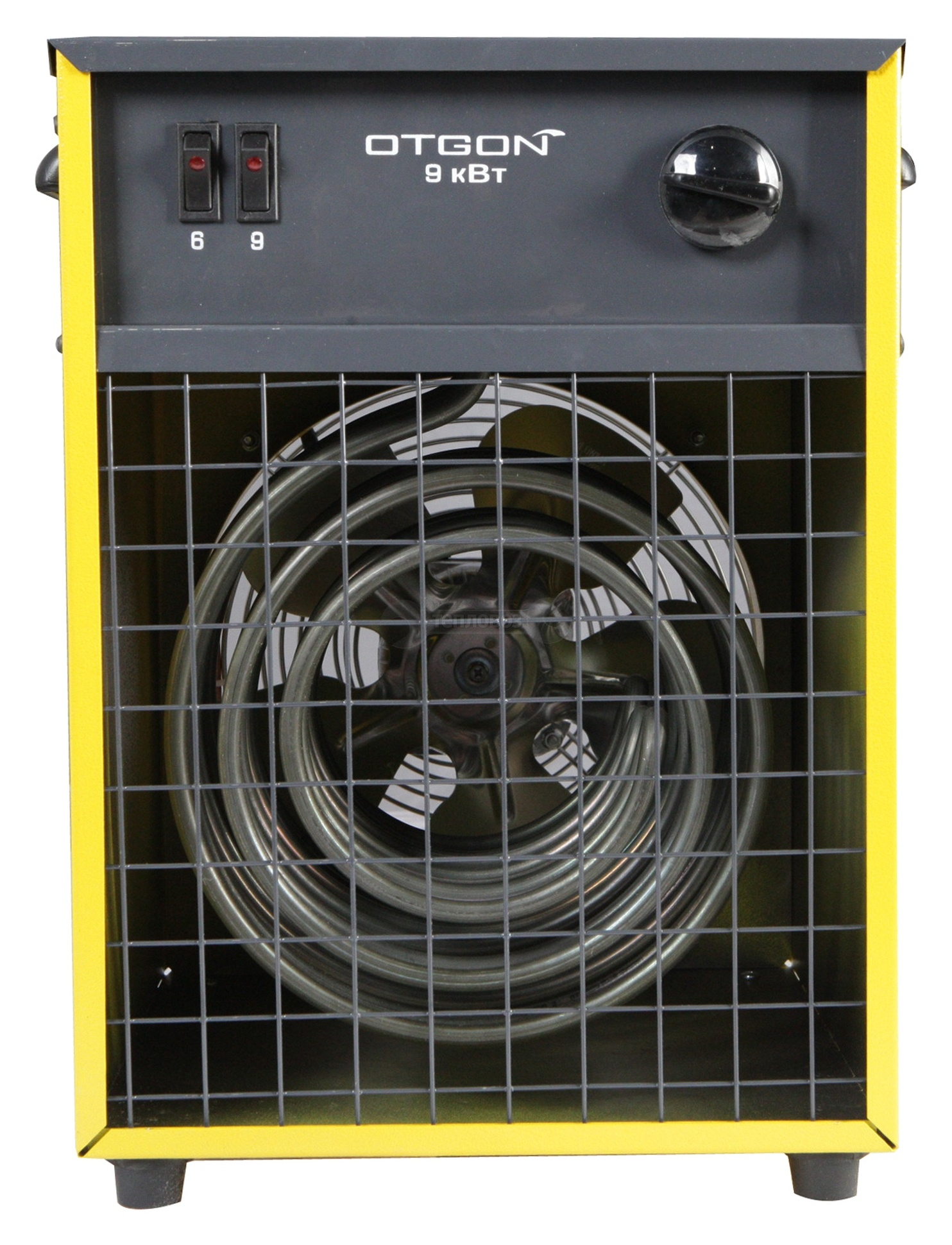 OTGON КЭВ-9, 9 кВт, желтый